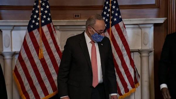 Schumer welcomes new Democratic senators