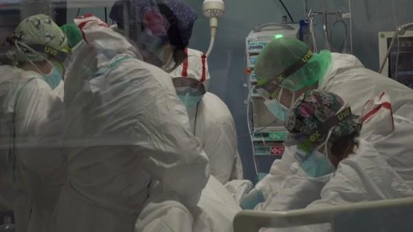 Spain virus surge hits mental health of frontline workers