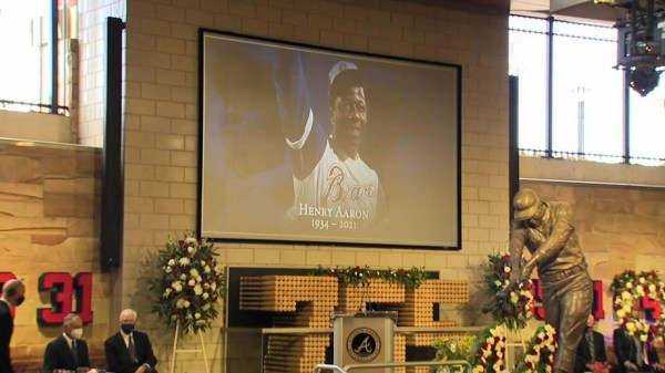 Baseball legend Hank Aaron remembered in Atlanta