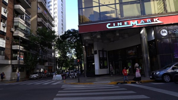 Argentina reopens movie theaters