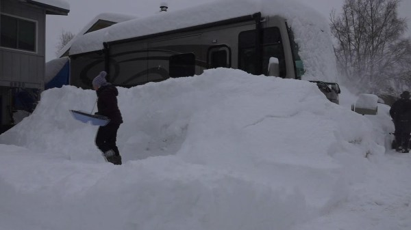 Anchorage's overnight surprise: 18 inches of snow