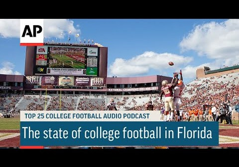 The state of college football in Florida   AP Top 25 Podcast