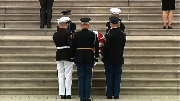 Biden pays tribute to slain Capitol Police officer