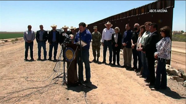 Arizona governor orders troops deployed at border