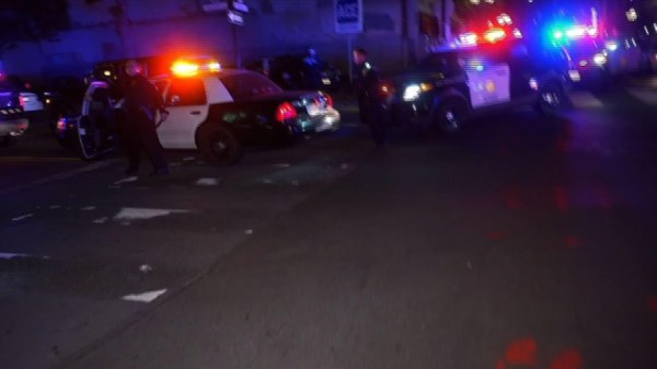 1 dead, 4 wounded in downtown San Diego shooting