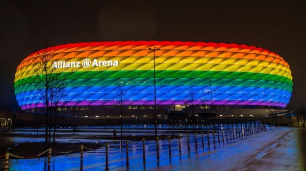 UEFA rejects Munich request for rainbow colors on stadium