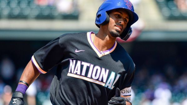 Chicago Cubs prospect Brennen Davis hits two home runs, wins MVP award in National League's convincing Futures Game victory