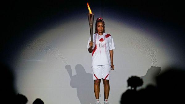 Olympics 2021 - Naomi Osaka shines in closing the opening ceremony