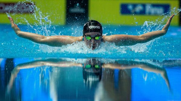 Olympics 2021 swimmer Nicole Frank is living out her grandmother's dream in Tokyo