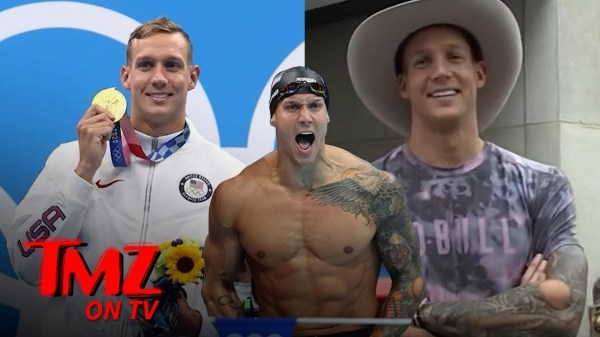 Olympic Swimmer Caeleb Dressel Talks Tattoos and Michael Phelps | TMZ TV