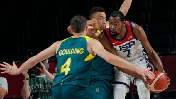 Kevin Durant, Jrue Holiday rally Team USA past Australia, to Olympic men's basketball gold-medal game