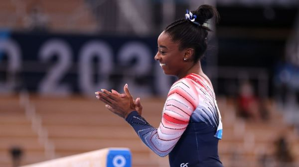 Olympic gymnastics live updates -- Simone Biles wins bronze on beam in last day of event finals