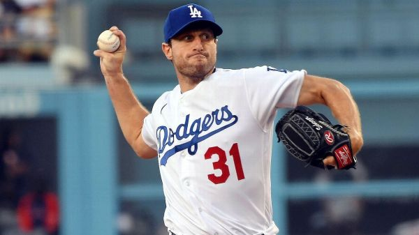 Starting pitcher Max Scherzer wins his debut with Los Angeles Dodgers, strikes out 10 Houston Astros