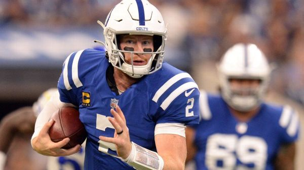 Quarterback Carson Wentz will start Sunday for Indianapolis Colts despite ankle injuries, sources say