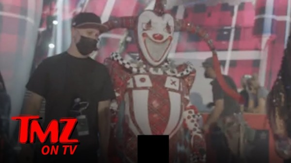 'The Masked Singer' Jester Costume Bulge Too Hot for TV | TMZ TV