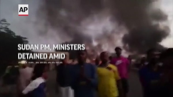 Sudan's PM and ministers held amid coup reports