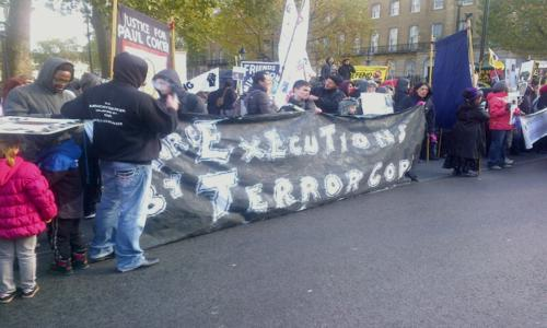 Anthony Grainger Campaign - UFFC 14th Demo 2012
