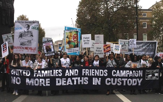 UFFC Annual Rally London 2016 - Image credit INQUEST