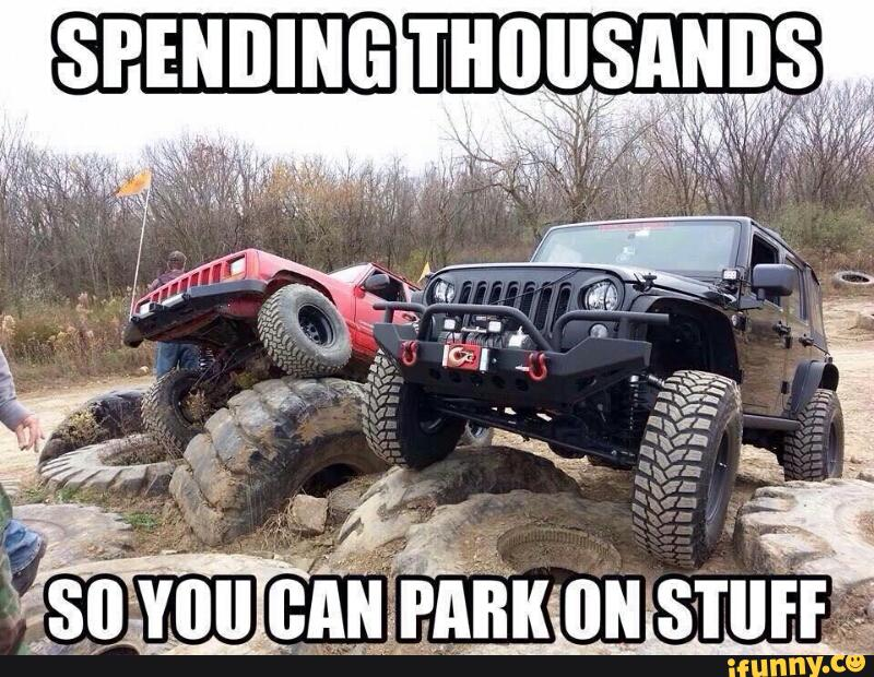 The Five Funniest Jeep Memes 4waam