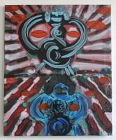 Alex Crocker, Double Drum (2012), oil on linen, 56x46cm