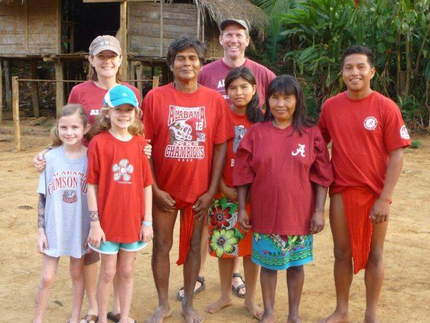 Embera Indians, University of Alabama,Roll Tide!
