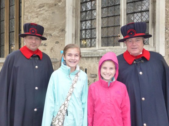 Beefeaters at the Tower of London