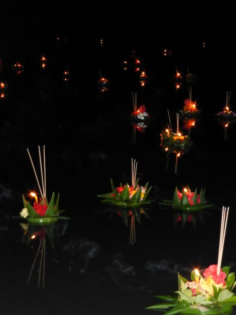 Your bad luck floats away with your krathong