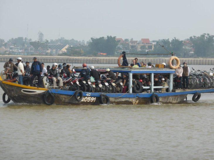 Ferry to Kim Bong Island, Hoi An Vietnam