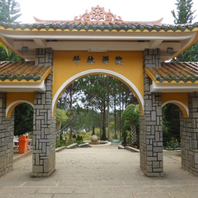 Truc Lam Buddhist Temple and Monastery DaLat Vietnam