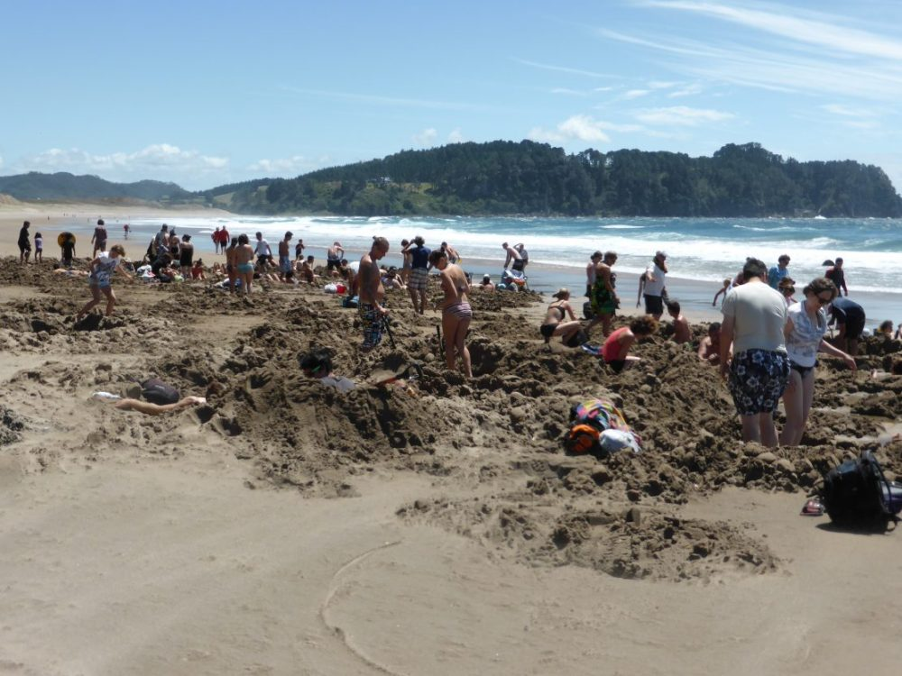 Hot Water Beach, Coromandel Peninsula, New Zealand