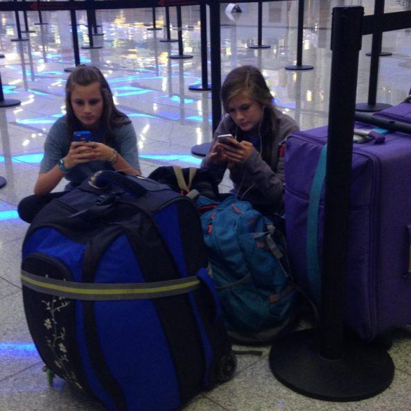 Atlanta airport during Turkey Coup D'etat