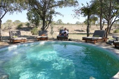 Shindzela Tented Camp swimming pool
