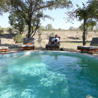 Shindzela Tented Camp swimming pool