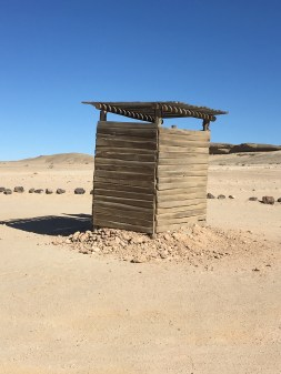 Namibia rest stop