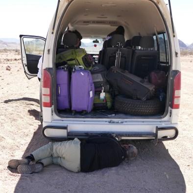 Car trouble Namibia