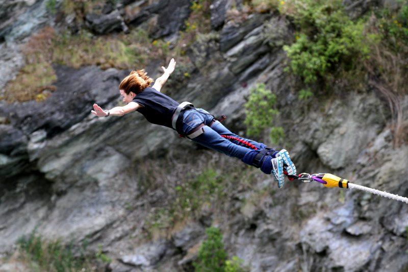 bungee jumping AJ Hackett