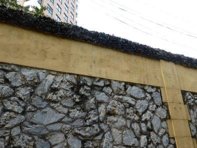 Hanoi Hilton exterior walls