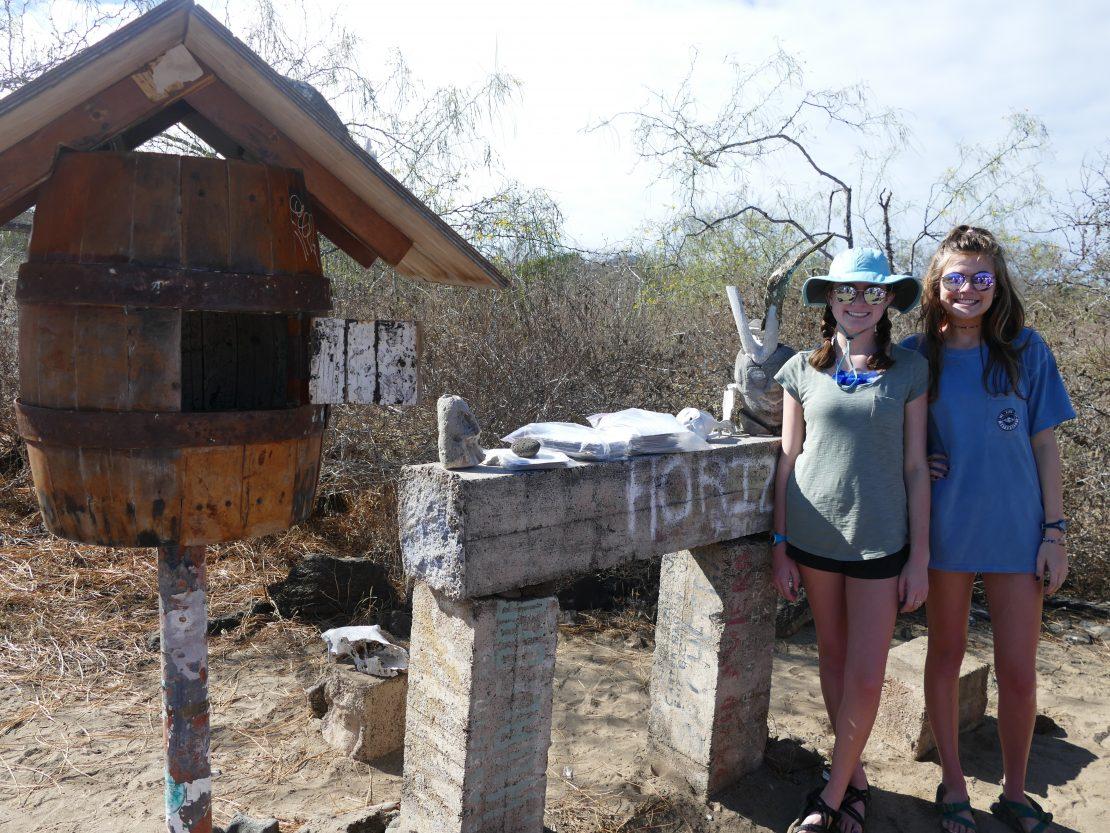 Post Office at Floreana Island, Galapagos