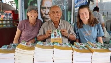 Mey Cambodia genocide survivor