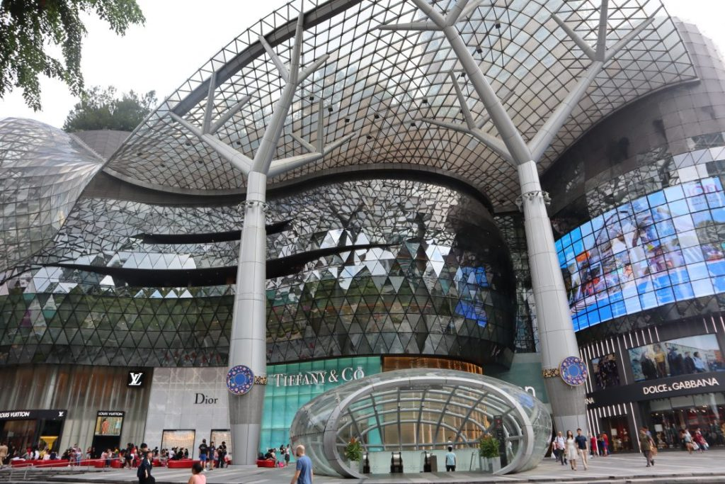 Luxury mall in Singapore