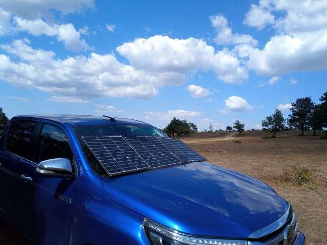 overland solar blanket