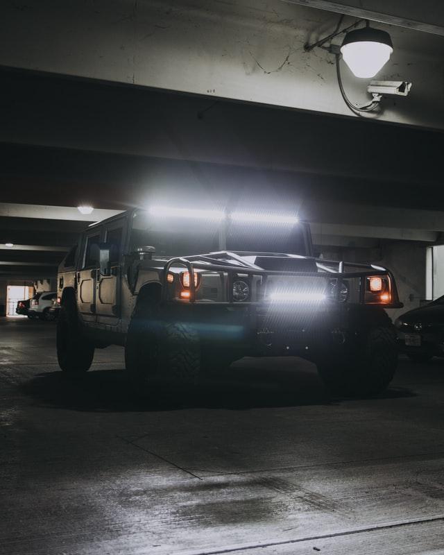 Hummer H3 für die Bergwacht