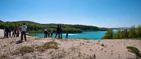 Na jezeru jalovine Valja Fundata