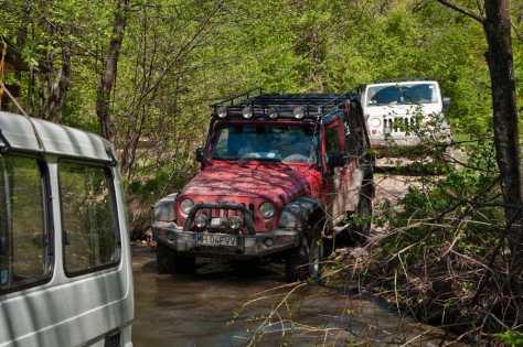 Jagnilo gazimo više puta na prilazu kanjonu