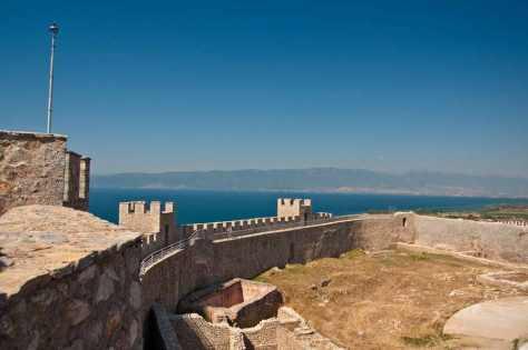 Sa tvrđave u Ohridu