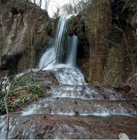 White Springs waterfalls