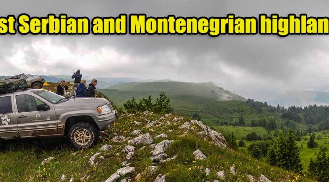 West Serbian and Montenegrian highlands