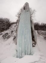 Vodopad Prskalo u zimskim uslovima je zaista veličanstven