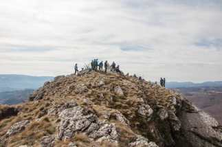Our hikers are already on Zdravča
