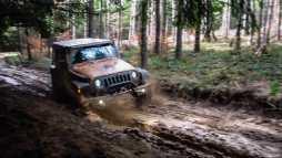 A bit of mud fun